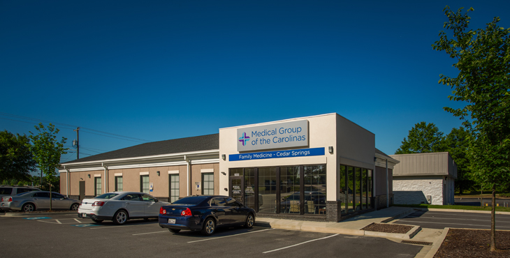 Medical Group of the Carolinas - Family Medicine - Cedar Springs