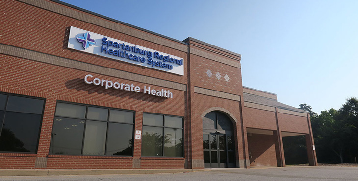 Spartanburg Regional Corporate Health – Spartanburg