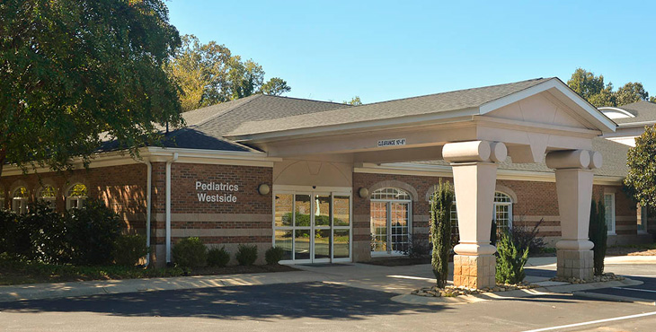 Medical Group of the Carolinas – Pediatrics – Westside