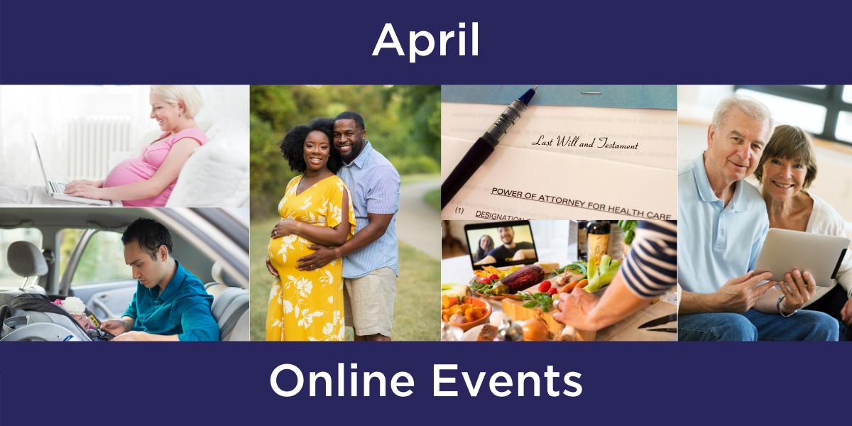 April 2021 Events for Spartanburg Regional