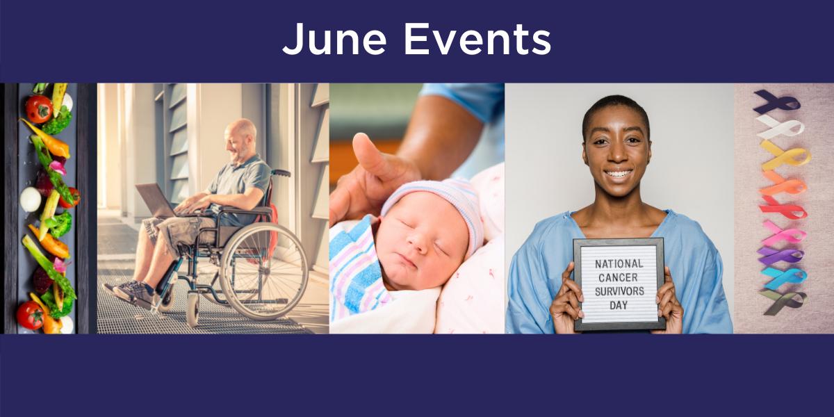 Health events happening in June