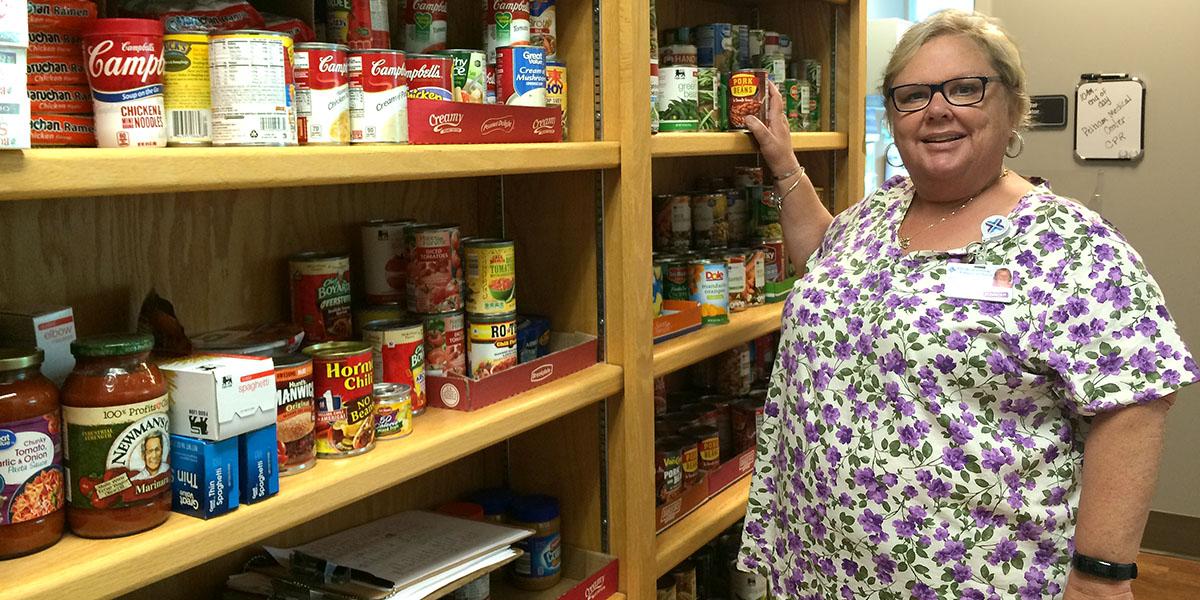 Food helps patients focus on health