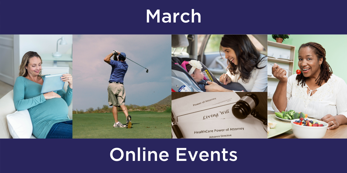 Events this March