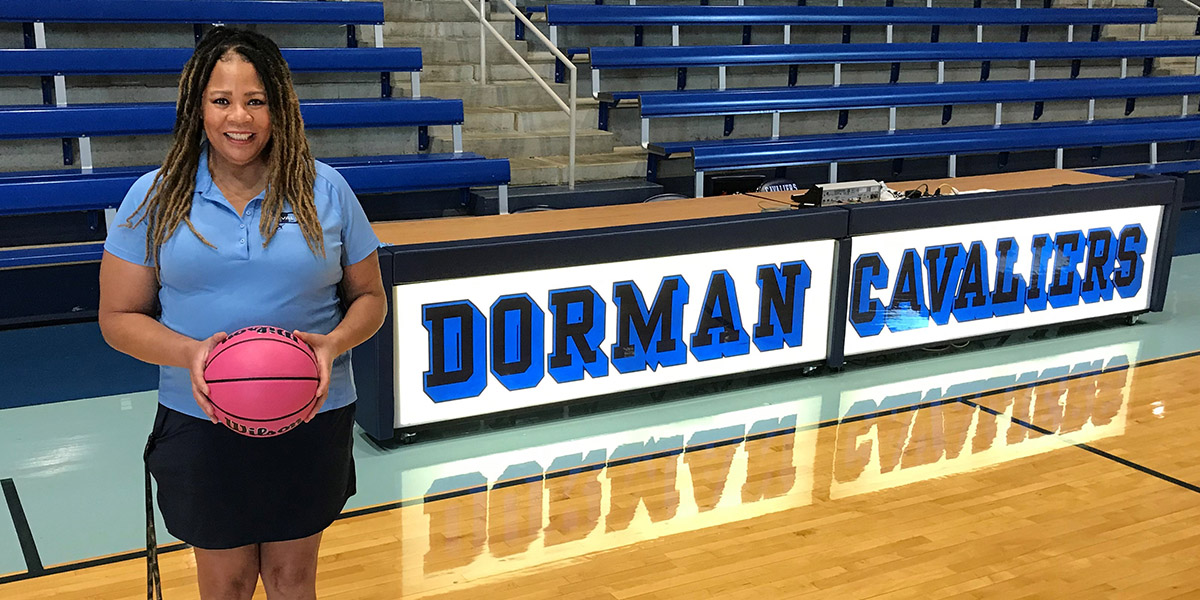 Basketball coach's battle against cancer inspires commitment to help others