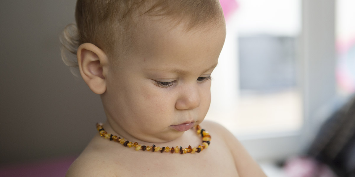 Are teething necklaces safe?